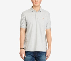 Ralph Lauren Men's Classic Fit Soft Touch Cotton Polo, Spring Heather