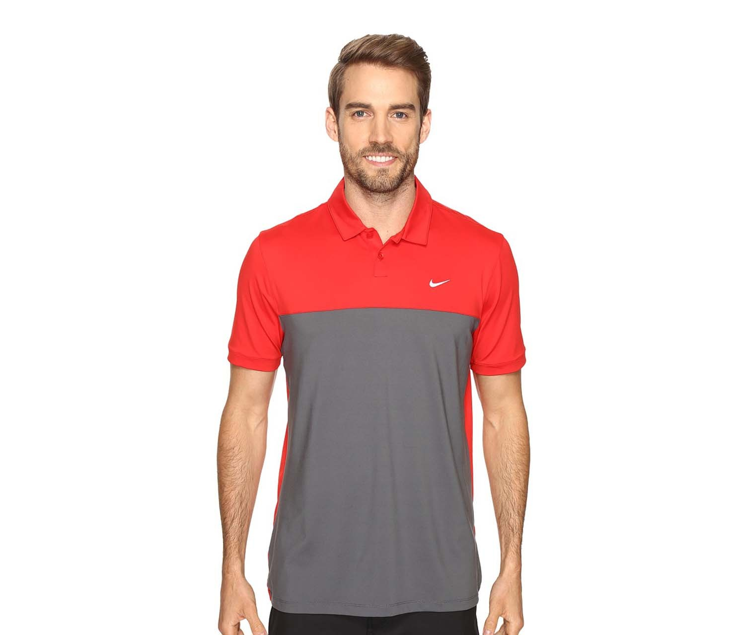 ca290e1f Shop Nike Nike Men's Icon Dri-fit Color-Blocked Golf Polo ...