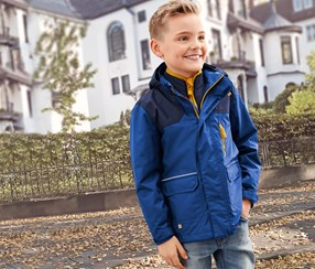 Boys Kids, All Weather Jacket, Blue