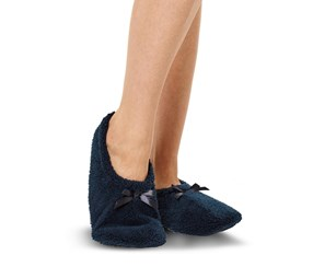 Womens Shoesocks, Navy Blue