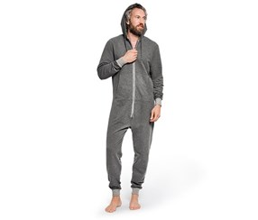 Men's Lounge Overall, Gray