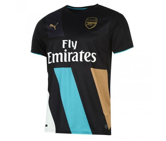 3294306d6a3 More Details. Color  Multicolor  Mens Football Shirt  Round neck  Short  sleeves ...