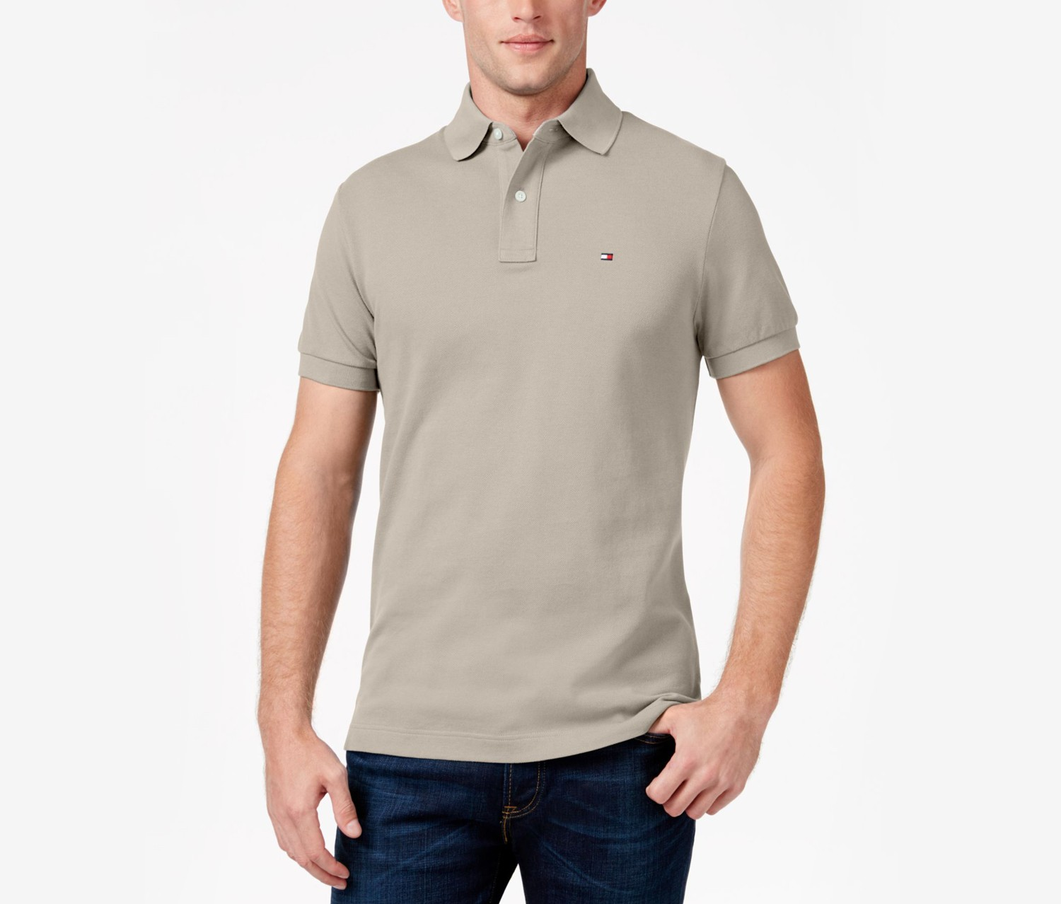 a96400ecd Shop Tommy Hilfiger Tommy Hilfiger Men's Custom-Fit Ivy Polo, Fall ...