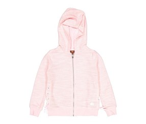 7 For All Mankind Lace Up Hoodie, Coral Blush