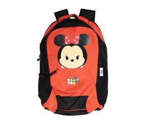New Boy Disney Tsum Tsum Backpack, Red/Black