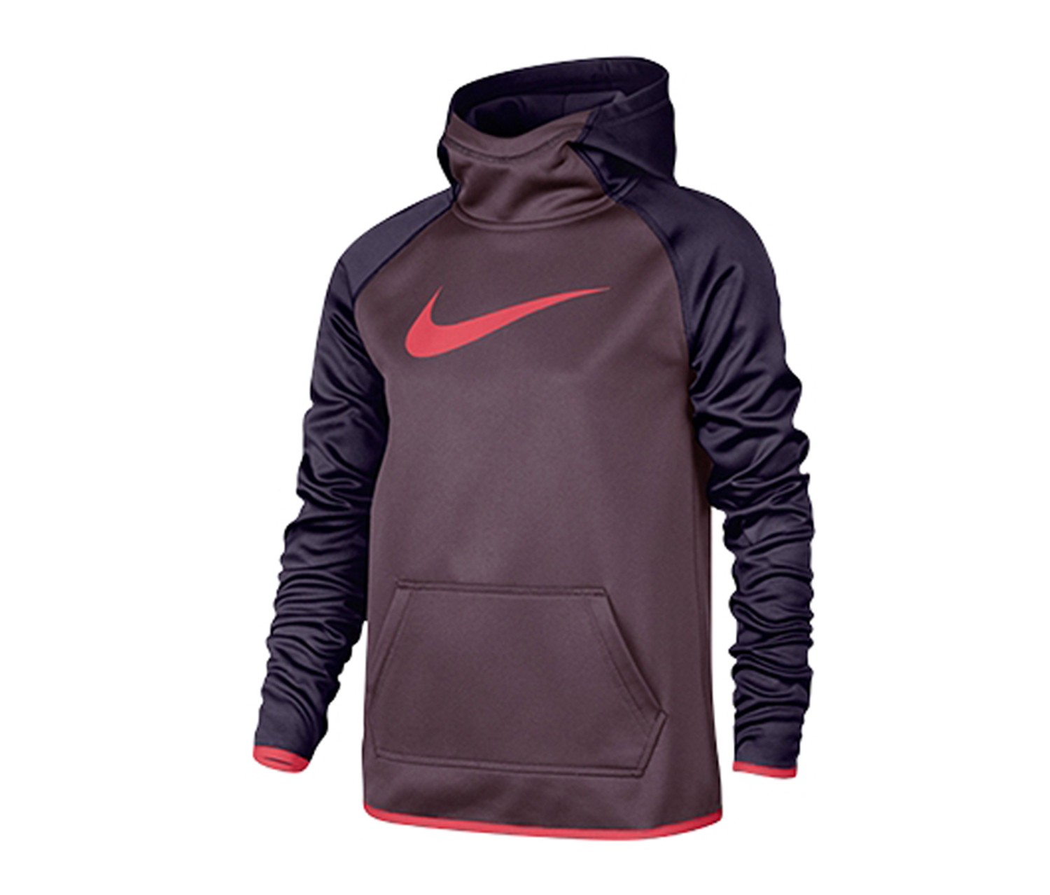 e4df2ce31a32b Shop Nike Nike Kids Girls' Therma Training Hoodie Sweatshirt, Purple ...