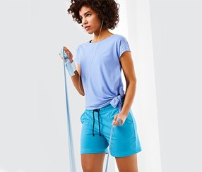 Women's Short, Blue
