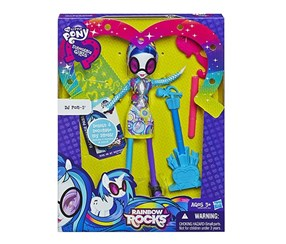 My Little Pony Equestria Girls DJ PON-3 Doll With Markers and Microphone, Purple