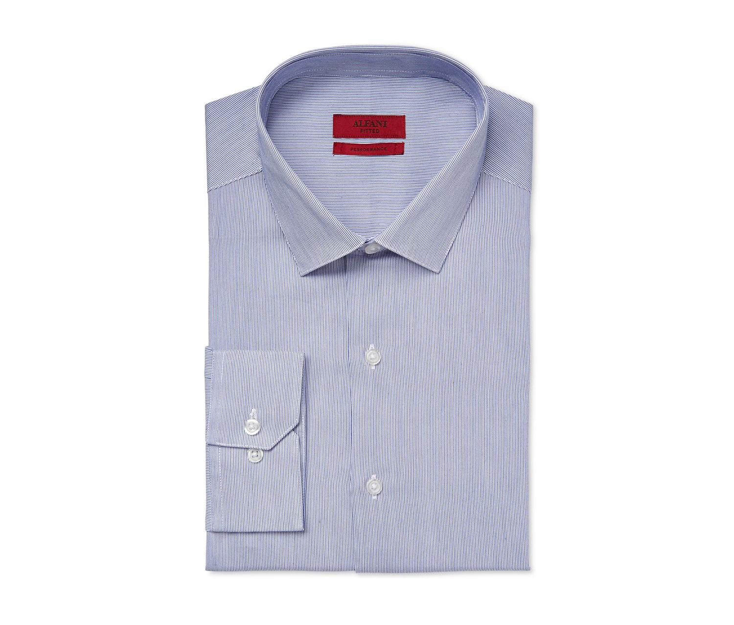 77d55a83a Alfani Red White Dress Shirt - DREAMWORKS