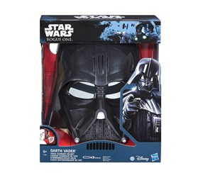 Star Wars Darth Vader Mask With Distortion, Black
