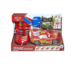 Mattel McQueen Transformable 5 in 1 Vehicle, Red