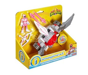 Fisher Price Power Rangers Pink Ranger and Pterodactyl Zord