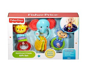 Fisher-Price Rainforest Friends Peg Gift Set, Blue