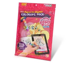 My Little Pony Paper-to-Digital Coloring Pack