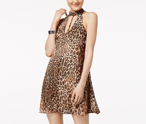 39ca79ce10b Shop Speechless Speechless Junior s Leopard-Print Shift Dress