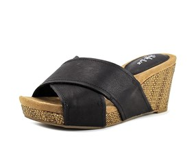 Style & Co Jilleep Womens Wedge, Black