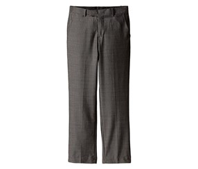Calvin Klein Big Boys' Mini Birdseye Pant, Black