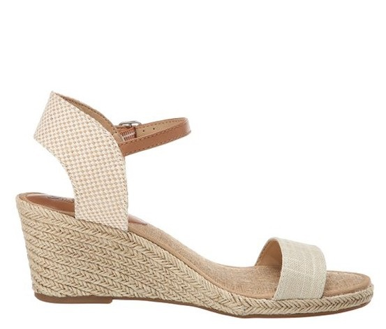 baab6793f0c Shop Lucky Brand Lucky Women's Kavelli Wedge Sandal, Natural for ...