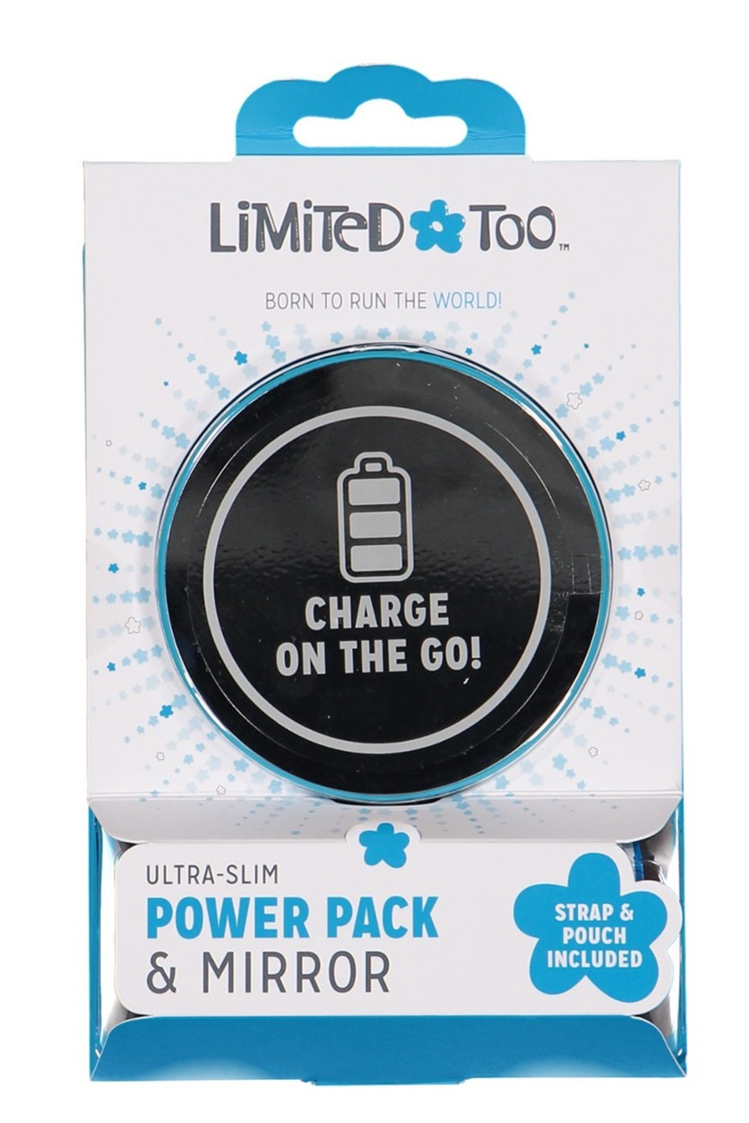 Shop Limited Too Limited Too Ultra Slim Power Pack & Mirror