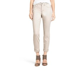 Nydj Alina Stretch Ankle Jeans, Clay