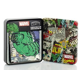 Marvel The Incredible Hulk Wallet Bi-Fold, Green Multi