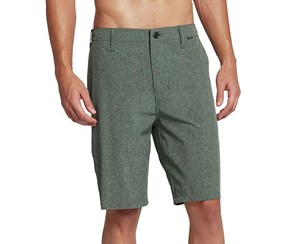 Hurley Men's Phantom Boardwalk Short, Vintage Green