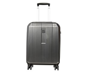 Princess Traveller Small Monte Carlo Brushed ABS Suitcase, Anthracite