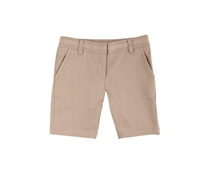 Nautica Kids Girls' Bermuda Shorts, Khaki