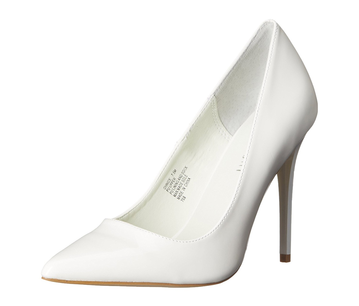 4b21a055b89 Shop Madden Girl Madden Girl Ohnice Pump, White for Women Shoes in ...