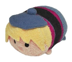 Disney Frozen Tsum Tsum Kristoff Mini Soft Toy, Blue