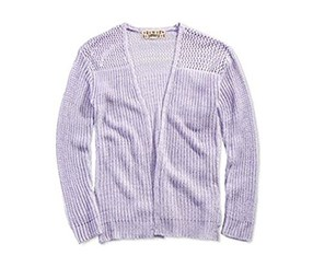Pink Republic Open-Front Cardigan, Wild Flower Purple