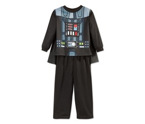 Star Wars Darth Vader Toddler Boys Pajama Set,Black