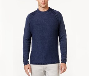 Tommy Bahama Mens Breaker Bay Textured Sweater, Coastline