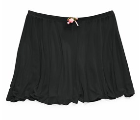 Future Star by Capezio Basic Rosette Dance Skirt, Black