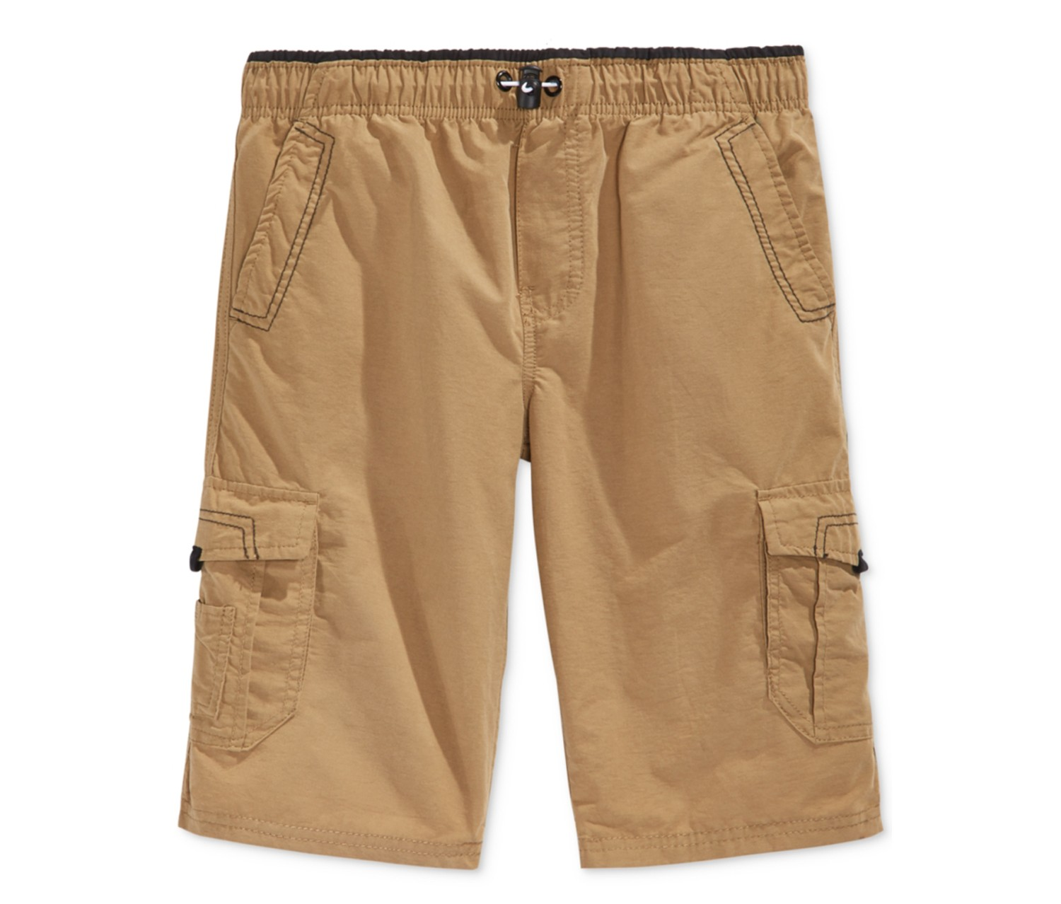 d980b8ba28 Shop UNIVIBE Univibe Boys Scout Cargo Shorts Khaki, Dull Gold for ...