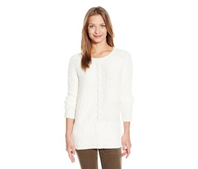 Sanctuary Clothing Women's New Snuggle Sweater, White