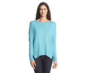 G.h. bass & co. Esme Cable Knit Sweater, Aquamarine