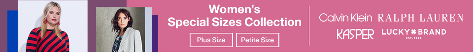 Women's Special Sizes