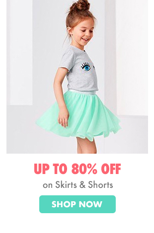 kids skirts & shorts