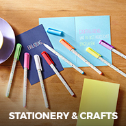 stationery and crafts